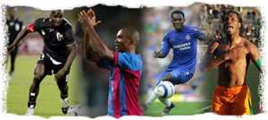 AFRICAN GOALS IN EUROPE: 5TH - 6TH MAY